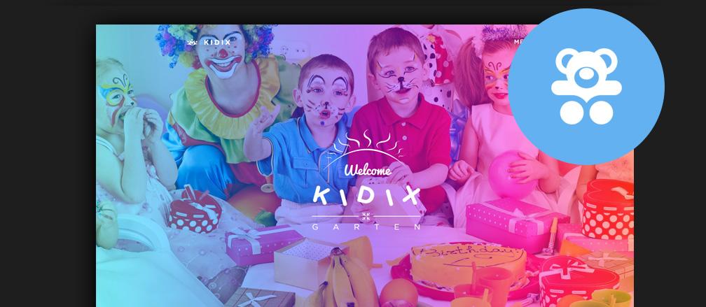Kids & Children WordPress Themes