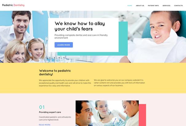 50 best html medical website templates 2017. Black Bedroom Furniture Sets. Home Design Ideas