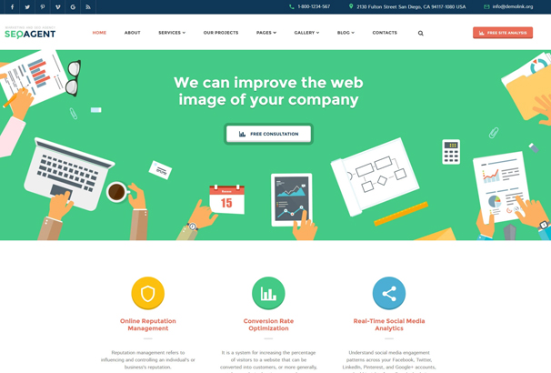 15 Top Responsive Angularjs Website Templates 2016