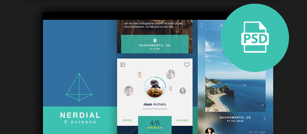 Free Mobile UI Kits for iOS and Android