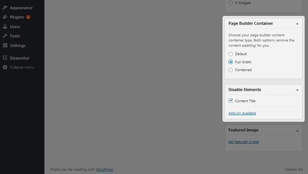 GeneratePress - Settings