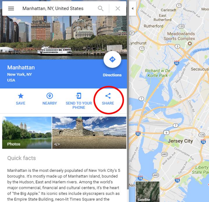 Embedding Google Maps Manually