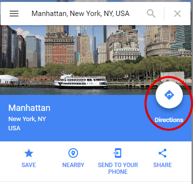 Embedding Google Maps Manually with directions