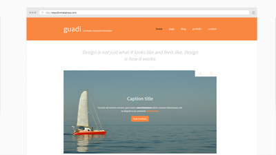 Guadi Free Template